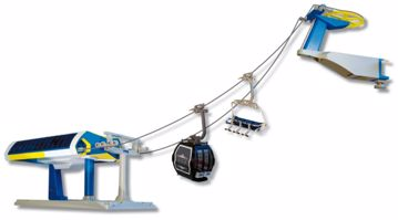 Jägerndorfer Ski Lift Luxe Yellow-Blue