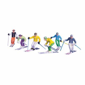Jägerndorfer Figurer Skiing 6 Pk