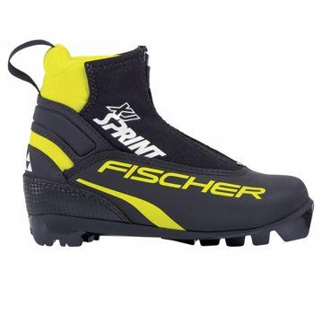 Fischer Jr. Sprint Skisko Black 37