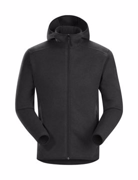 ArcTeryx Mens Covert Hoody Black Heather XXL