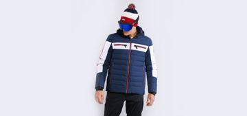 Vuarnet Mens Makalu Down Ski Jacket Navy XL