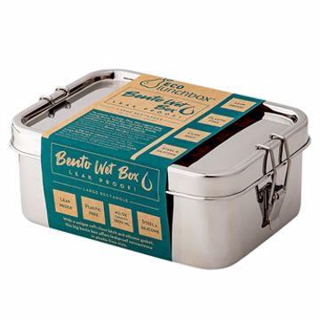 Eco Lunch Box Bento Wet Box Matboks Rustfritt Stål