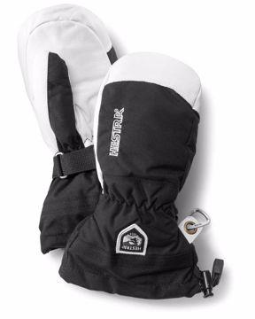 Hestra Army Leather Heli Ski Junior 7