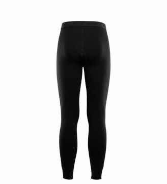 Aclima Mens DoubleWool Longs Jet Black/Marengo XL