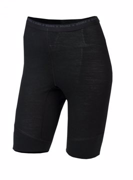 Aclima Wms LightWool Shorts (long) Jet Black M