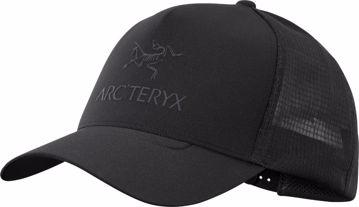 Arc'teryx Logo Trucker Hat Black OS