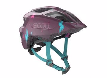 Scott Helmet Spunto Kid Str 46-52 Deep Purple OneSize