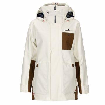 Amundsen Sports Wms Deck Jacket Offwhite  M