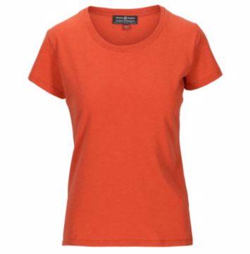Amundsen Sports Wms Summer Wool Tee Red Clay XS