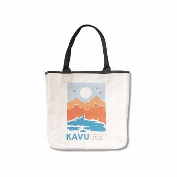 Kavu Totes Organic MTN Natural Handlenett