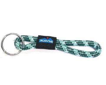 Kavu Rope Key Chain Blue Surf