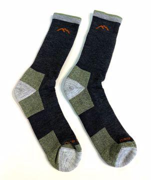 Darn Tough Mens Hiker Boot Sock Lime MEDIUM