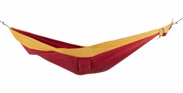 Ticket To The Moon Dobbel Original Hammock Burgundy/Dark Yellow 320 x 200 cm