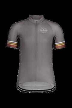 Maloja Mens KratzdistelM. 1/2 Breeze Short Sleeve Bike Jersey Stone S