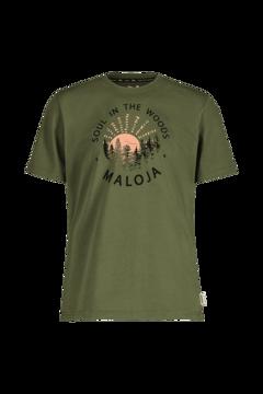 Majora Mens HeckenkirscheM. T-Shirt Moss S