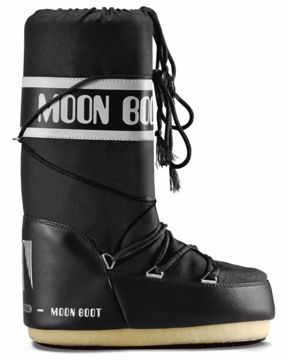 Moon Boot Mens Nylon Black 45/47
