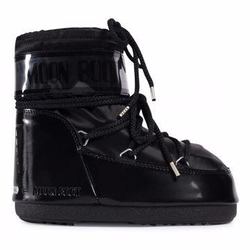 Moon Boot Mens Classic Low Glance Black