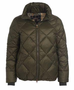 Barbour Wms Alness Quilt Jacket Sage 16