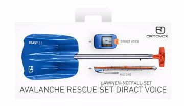Ortovox Rescue Set Diract Voice Blue