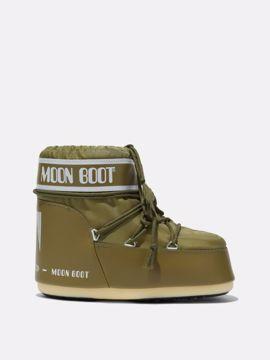 Moon Boot Mens Classic Low 2 Khaki