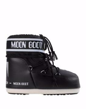 Moon Boot Mens Classic Low Black
