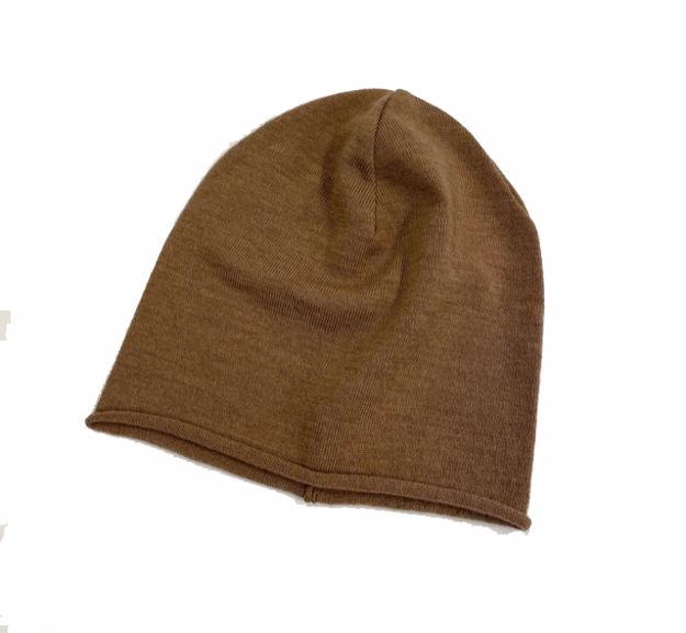 Steffner Lady Merinowool Hat Light Brown