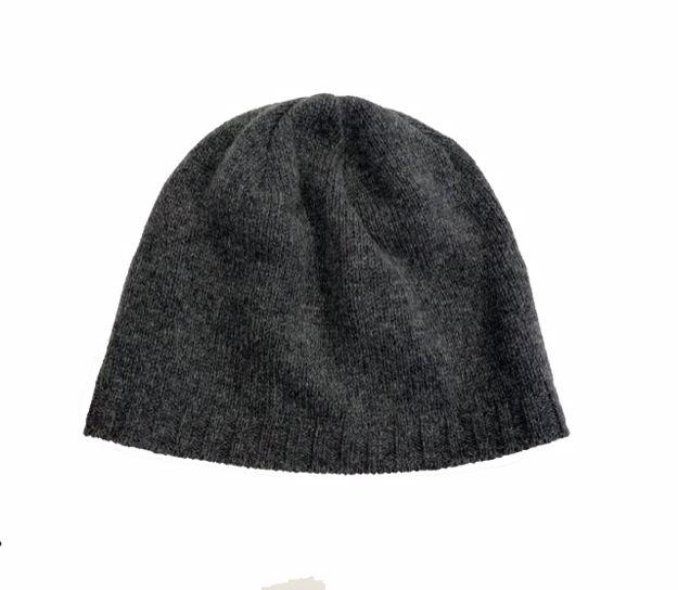Steffner King Lambswool Hat Dark Grey