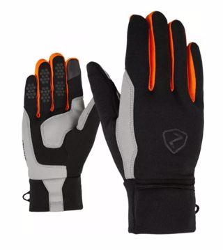 Ziener Gazal Touch Mountaineering Glove Black