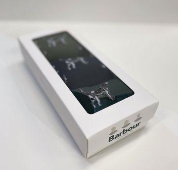 Barbour Pointer Dog Socks Gift Box One Size