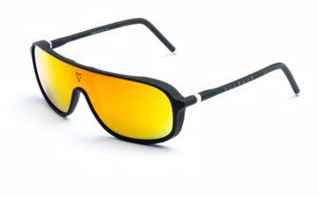 Vuarnet Ice HD Purple Red Sunglasses Black